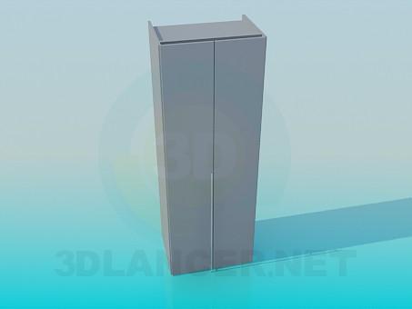 3d модель Шкаф с низкой рукояткой – превью