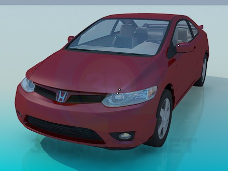 3d model Honda CIVIC - preview