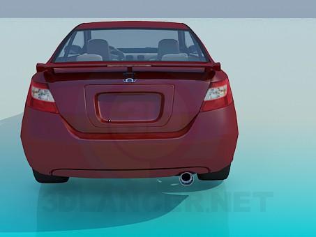 3d модель Honda CIVIC – превью