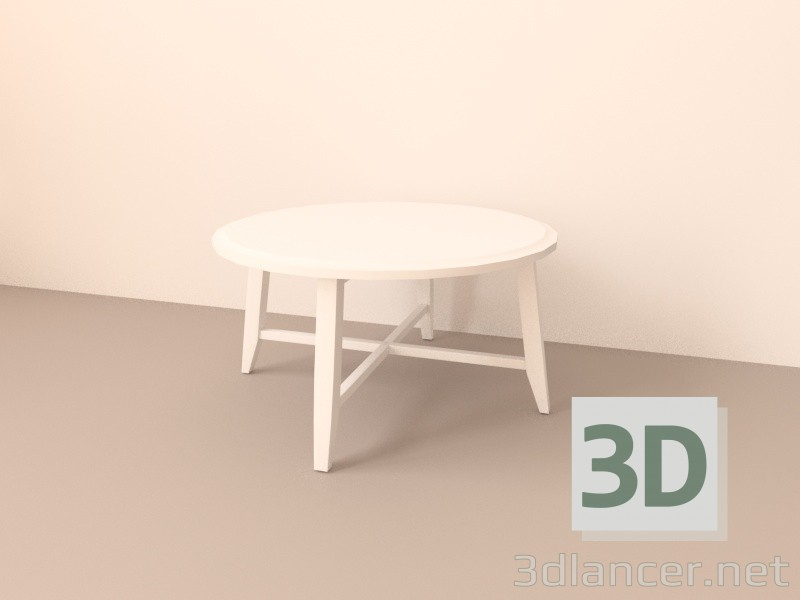 3d model table ikea kragsta in the style of scandinavian id 15901. Black Bedroom Furniture Sets. Home Design Ideas