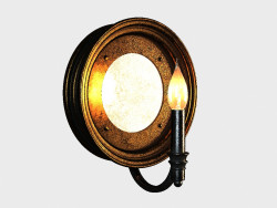 What ROUND wall light SCONCE (SN013-1-ABG)