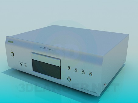 3d модель Denon DVD – превью