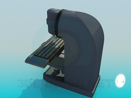 3d model Drilling machine - preview