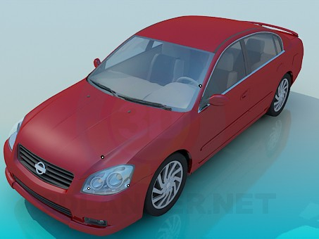 3d model Nissan Altima - preview