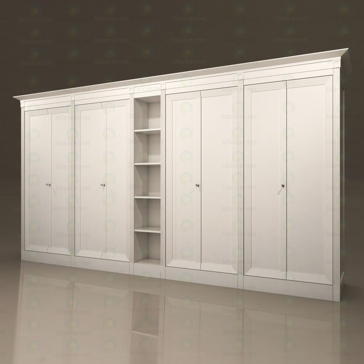 3d model Storage Cabinet - preview