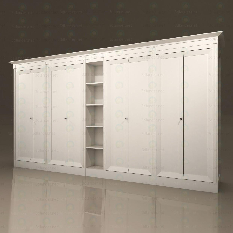 descarga gratuita de 3D modelado modelo Gabinete de almacenaje