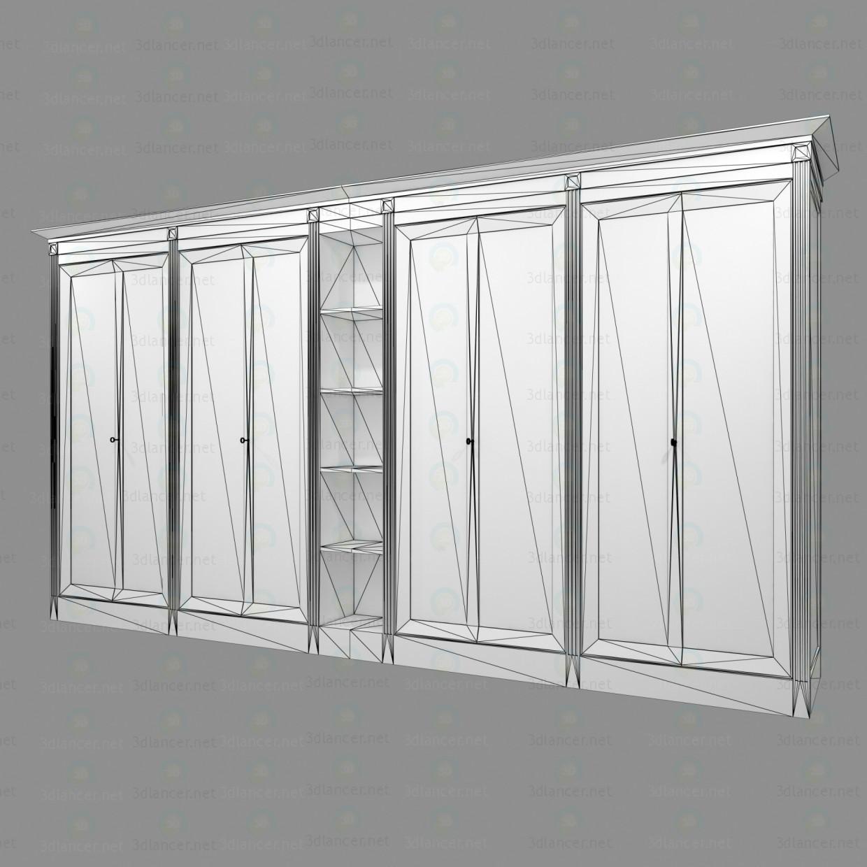 3d модель Шкаф для хранения – превью