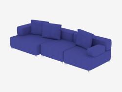 Triple Sofa Module