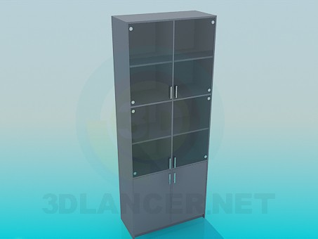 3d model Office cabinet - preview