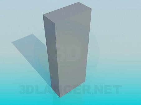 3d модель Шкаф офисный – превью