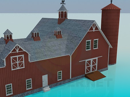 3d model Farmhouse - preview