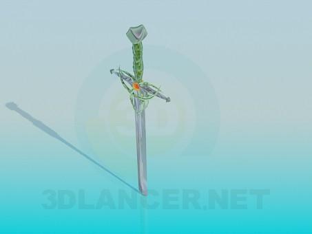 3d model Sword - preview