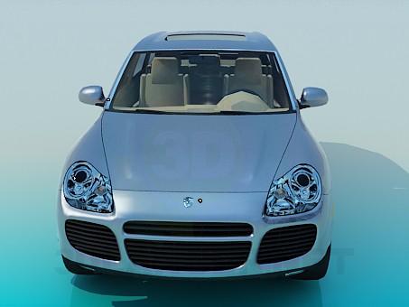 3d model Porsche Cayenne, 3ds, - Free Download | 3dlancer net