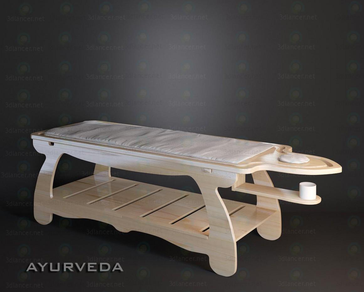 3d model ESAGONO - AYURVEDA - preview