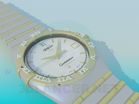 3d modeling OMEGA Watches model free download