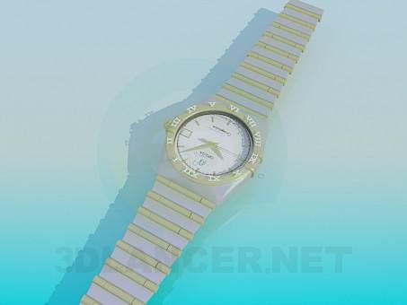 3d модель Годинники OMEGA – превью