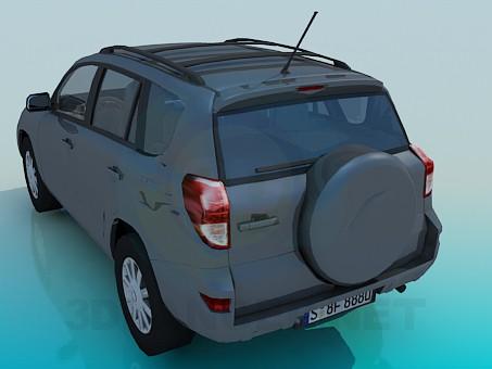 3d model Toyota RAV4 - preview