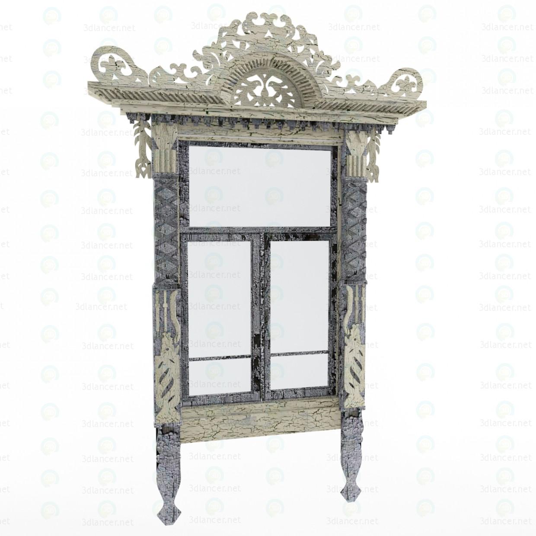 Scarica di Ornato finestra modello gratuito di modellazione 3D