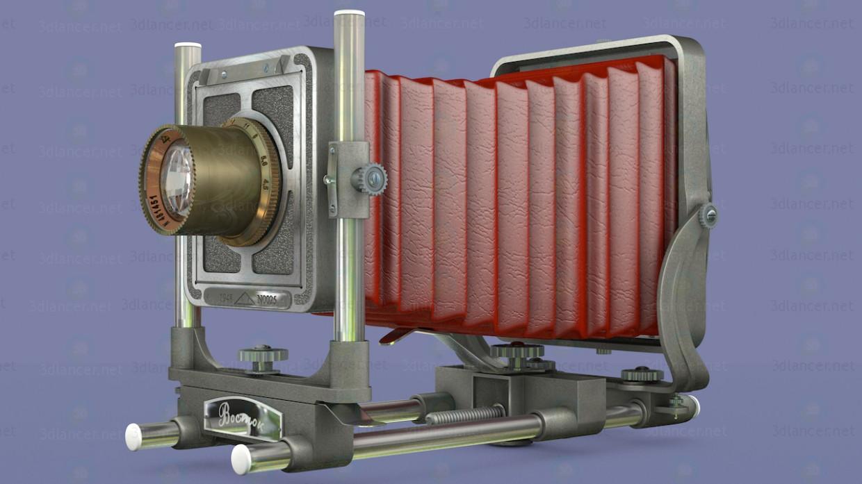 modelo 3D cámara Vostok - escuchar