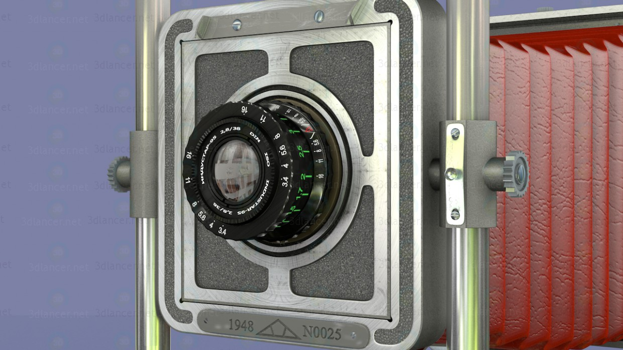 3d model Camera Vostok - preview