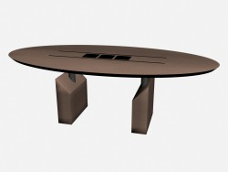 Tisch Oval Accademia