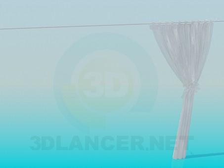 descarga gratuita de 3D modelado modelo cortinas