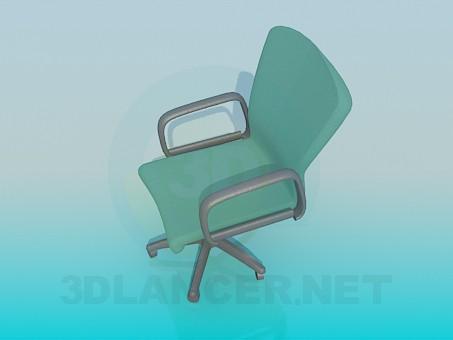 3d модель Стул для письменного стола – превью