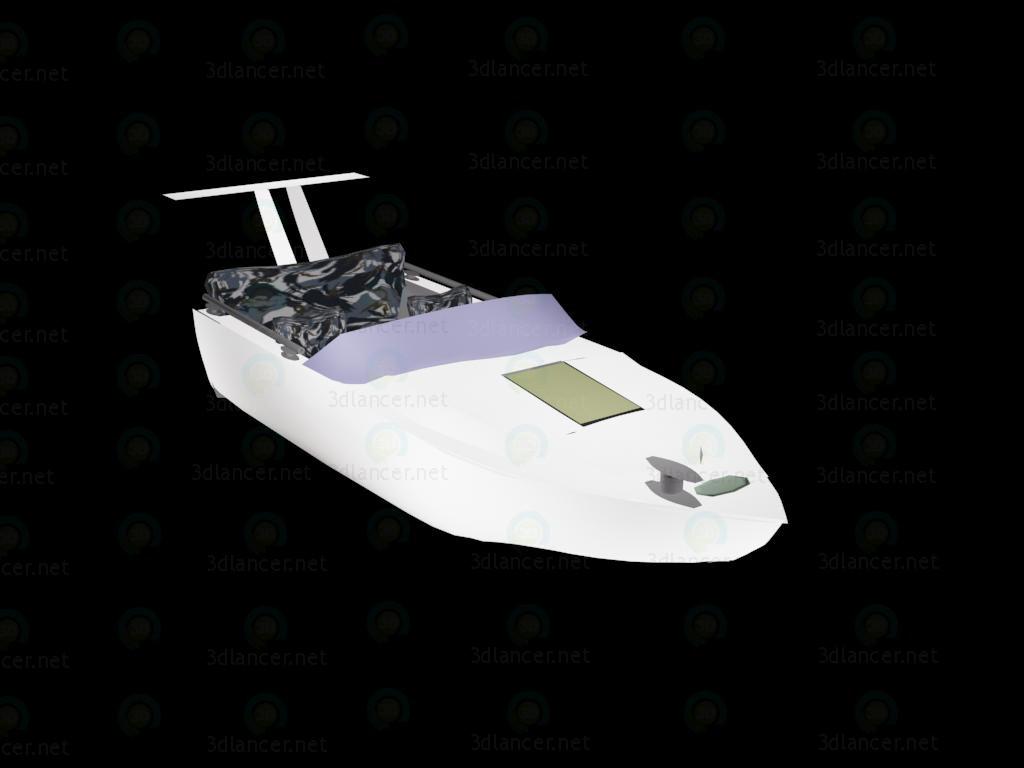 3d модель Катер – превью