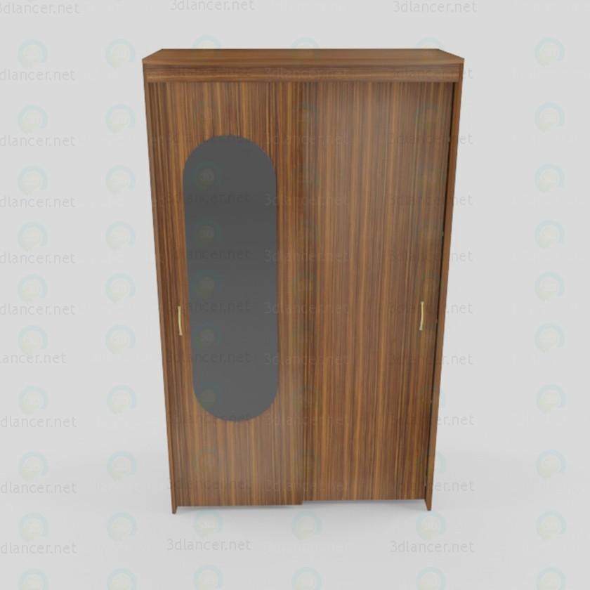 Gabinete mini Coupe 3D modelo Compro - render