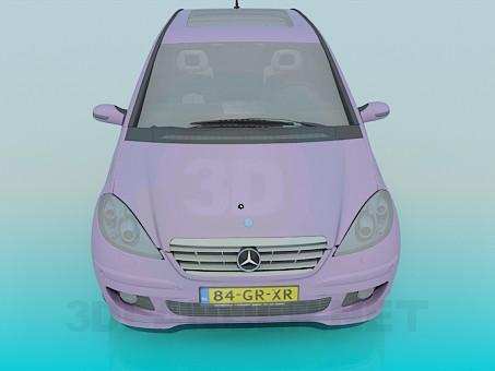 3d модель Mercedes A-Class – превью