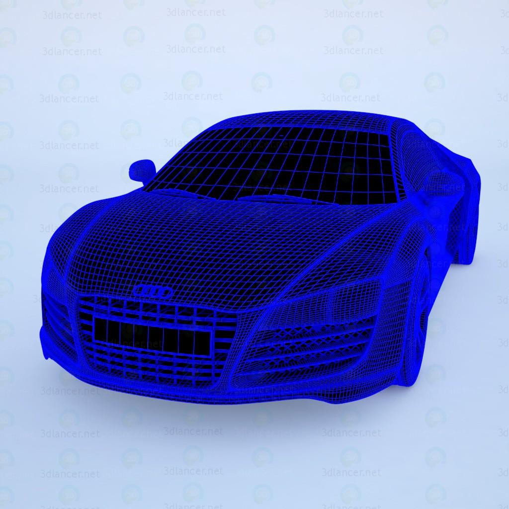 3d Audi R8 модель купити - зображення