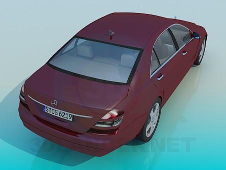 3d модель Mercedes S-Class – превью