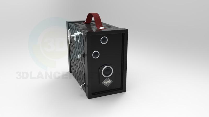 descarga gratuita de 3D modelado modelo cámara