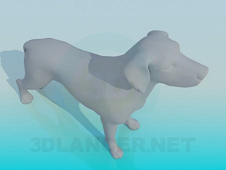 descarga gratuita de 3D modelado modelo Perro