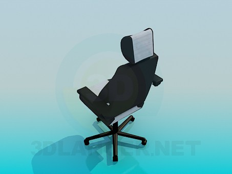 3d model Chair-Chair on casters - preview
