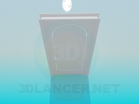 modello 3D Porta - anteprima