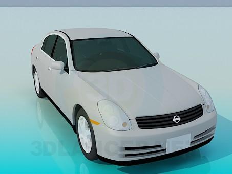 modèle 3D Nissan Skyline - preview
