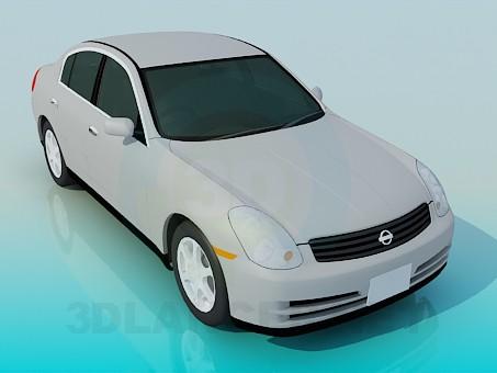 modelo 3D Nissan Skyline - escuchar