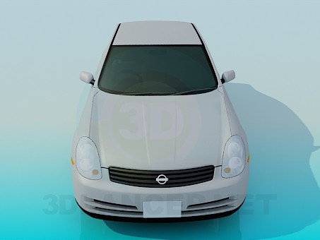 3d model Nissan Skyline - preview