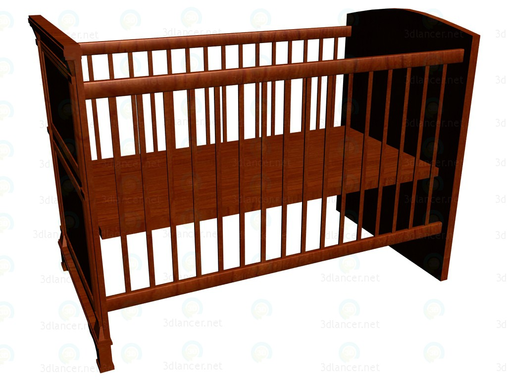 3d model Cot for children 120 x 60 VOX - preview
