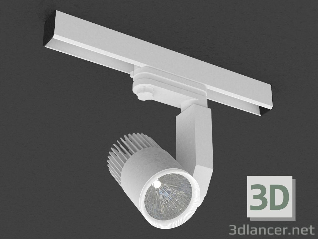 3 डी मॉडल तीन चरण बस के लिए एलईडी दीपक (DL18761_01 ट्रैक डब्ल्यू 5W) - पूर्वावलोकन
