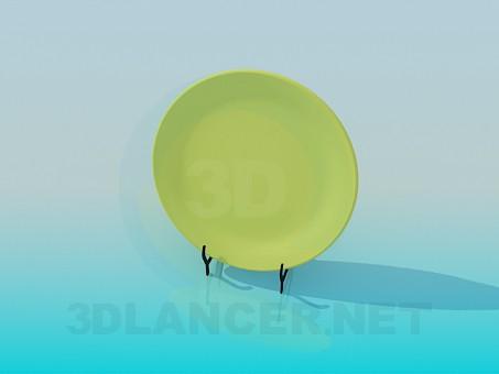 3d model Decorative plate - preview