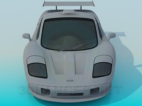 3d model McLaren F1 - preview