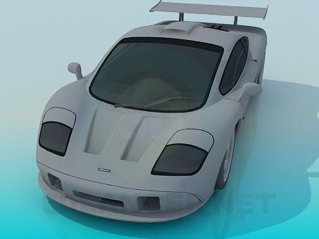3d модель McLaren F1 – превью