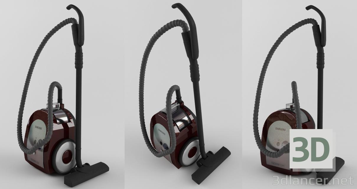 3d моделирование Пылесос Самсунг модель скачать бесплатно