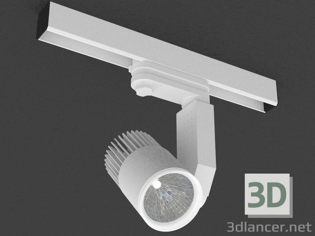3 डी मॉडल तीन चरण बस के लिए एलईडी दीपक (DL18761_01 ट्रैक डब्ल्यू 7W) - पूर्वावलोकन