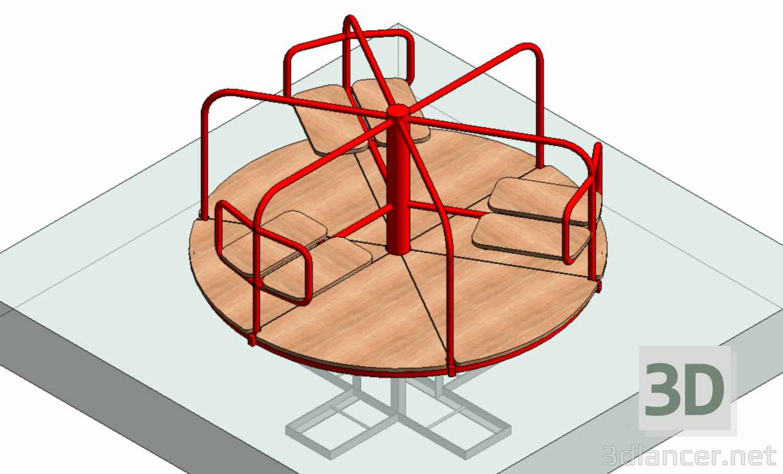 3d model Carusel - preview