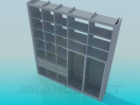 3d model Book locker - preview
