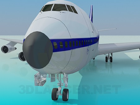 3d model Boing-747 - preview