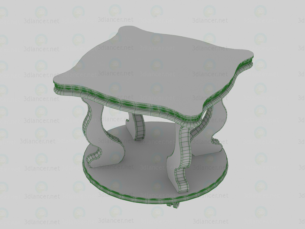 3d Coffee table, Berge-4 model buy - render